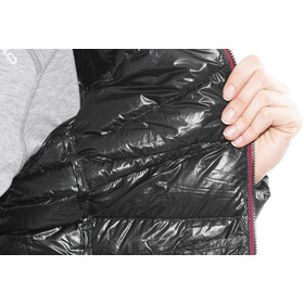 Yeti Cirrus Ultralight Down Jacket Dame black/ribbon red